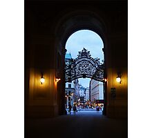 Welcome to Vienna Photographic Print