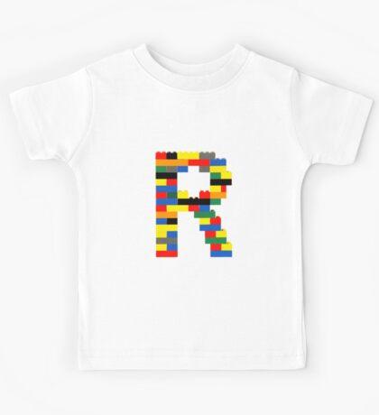 R t-shirt Kids Tee
