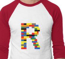 R t-shirt Men's Baseball ¾ T-Shirt