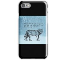 White Fang - Jack London iPhone Case/Skin