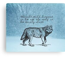 White Fang - Jack London Canvas Print