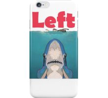 Left Jaws iPhone Case/Skin