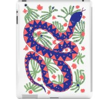 Snake and Flowers iPad Case/Skin
