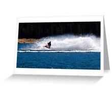 Summer fun on the water!! Greeting Card