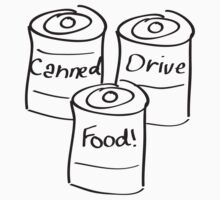 Canned Food Drive by Peter Ramsing