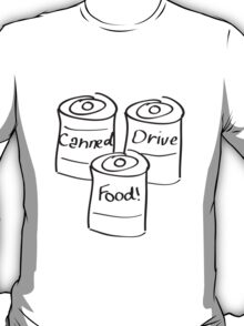 Canned Food Drive T-Shirt