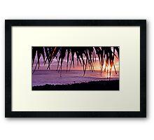 Lennox Head sunrise Framed Print