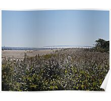 Block Island from Matunuck and the Sparkling Sea Poster