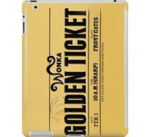 Golden Ticket iPad Case/Skin