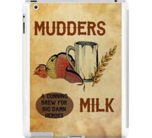 Mudders Milk iPad Case/Skin