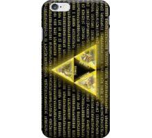 Zelda Triforce Art Logo iPhone Case/Skin