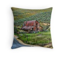 RURAL IDAHO Throw Pillow