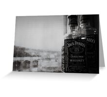 Jack D on a Rainy Day Greeting Card