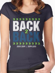 Back To Back Women's Fitted Scoop T-Shirt