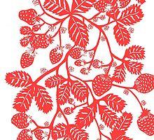 Strawberry Vine by mirandaholms