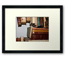 The Story of Books Framed Print