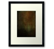 A Gap in the Past Framed Print