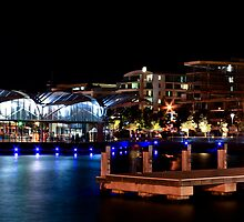 Geelong Foreshore at Night II by Allen Gray