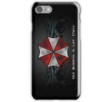 Umbrella Corporation Logo iPhone Case/Skin