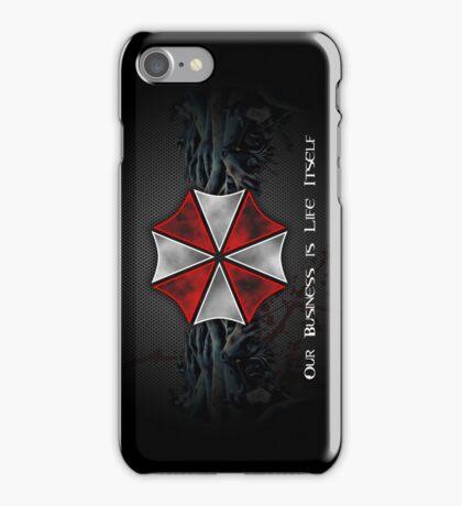 Umbrella Corporation Logo iPhone Case/Skin