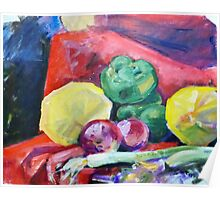 Colorful Vegetables Poster