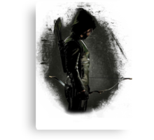 The Arrow - Green Arrow Canvas Print