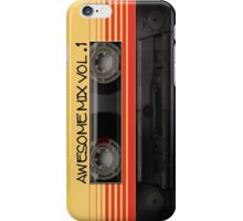 Awesome Mix Cassette Vol. 1 iPhone Case/Skin