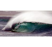 empty wave Photographic Print