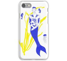 Tattooed Merman  iPhone Case/Skin