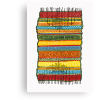 magic knee-rug Canvas Print