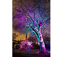 Oran Mor from the Electric Gardens Photographic Print