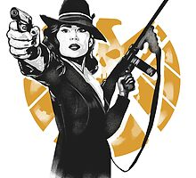 AGENT CARTER by PawixZ kid