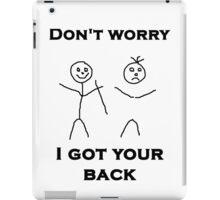 I Got Your Back iPad Case/Skin