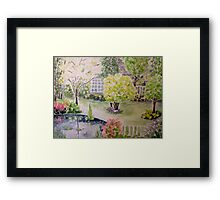 Touch of Paradise Framed Print