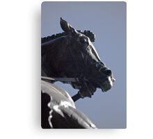 The Dragon Slayers Horse Canvas Print