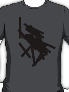 black lines 4 T-Shirt