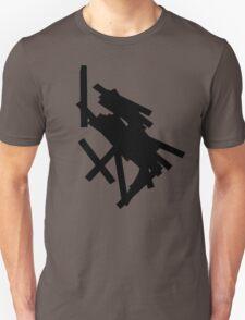 black lines 4 Unisex T-Shirt