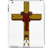 I Kneel At The Feet Of The Cross iPad Case/Skin