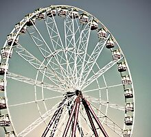 Giant Sky Wheel by Anthony and Kelly Rae