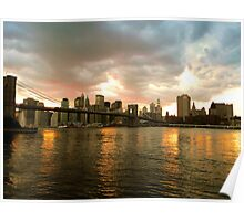 BROOKLYN BRIDGE IN ALL ITS NATURAL GLORY Poster