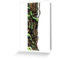Gnarly Tree Trunk Greeting Card