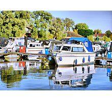 Boats Photographic Print