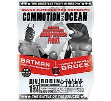 Bat vs Shark Poster