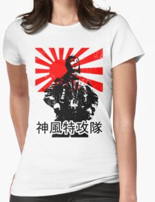 Shimpū Tokkōtai (Kamikaze)... Womens Fitted T-Shirt