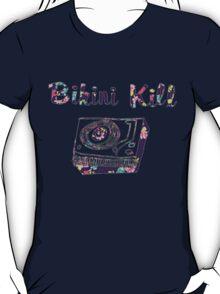 Bikini Kill Purple Floral Riot Grrrl Feminist Design T-Shirt