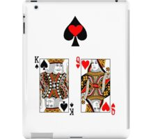 Card Games I iPad Case/Skin