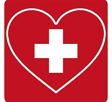 Get Well Soon, Doctor, Heart, First Aid, Swiss Army, Victorinox, Sexy Nurse by O O