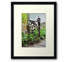 Lizards and Snakes and Other Creepy Creatures Framed Print