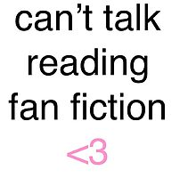 Cant talk reading fan fiction by obsessedsketchs