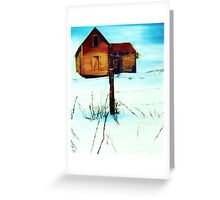 SNOWHOUSE Greeting Card